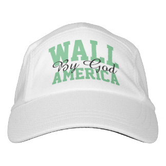 Gorra De Alto Rendimiento Pared por el casquillo de América de dios