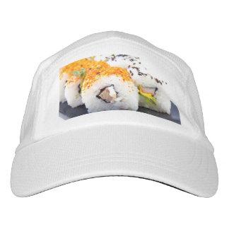 Gorra De Alto Rendimiento Sushi en una placa