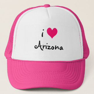 Gorra de Arizona del amor del rosa I