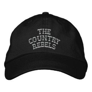 Gorra de béisbol 2 de los rebeldes