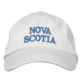 Gorra de béisbol ajustable de Nueva Escocia