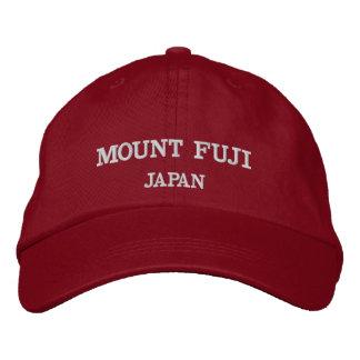 Gorra de béisbol ajustable del monte Fuji