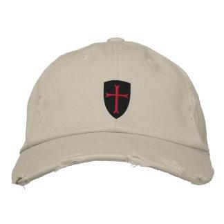 Gorra de béisbol apenada cruz de Crussader