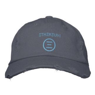 Gorra Bordada Gorra de béisbol azul clara del símbolo de
