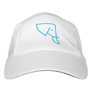 Gorra de béisbol azul del elefante de MMNH
