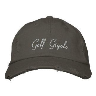 Gorra de béisbol bordada Gigolo del golf/gorra div
