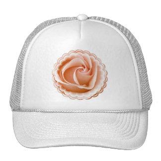 Gorra de béisbol color de rosa de la foto