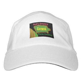 Gorra de béisbol cristiana de Iowa de la iglesia Gorra De Alto Rendimiento