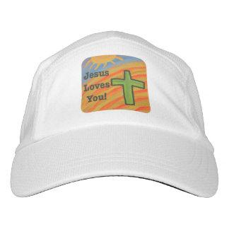 Gorra de béisbol cristiano de Jesús de la iglesia Gorra De Alto Rendimiento