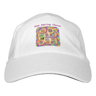 Gorra de béisbol cruzada cristiana de la iglesia gorra de alto rendimiento