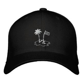 Gorra de béisbol de Embroided del negro del RUGBI