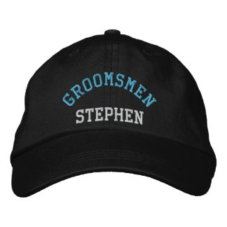 Gorra de béisbol de encargo del azul del soltero