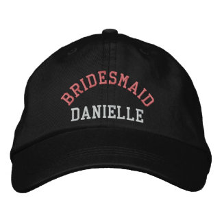 Gorra de béisbol de encargo del rosa del