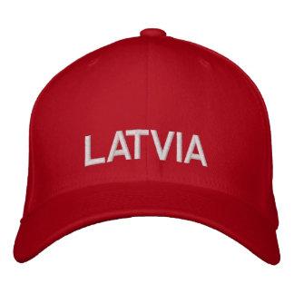 Gorra de béisbol de encargo roja y blanca de