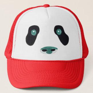 Gorra de béisbol de la cara de la panda