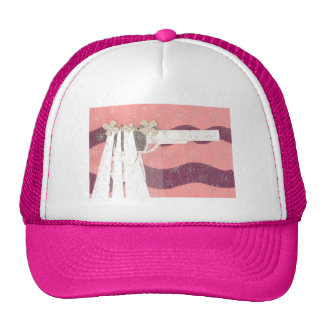 Gorra de béisbol de la novia del arma
