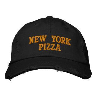 GORRA DE BÉISBOL DE LA PIZZA DE NUEVA YORK