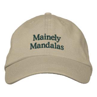 Gorra de béisbol de las mandalas de Mainely