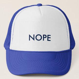 Gorra de béisbol de Nope