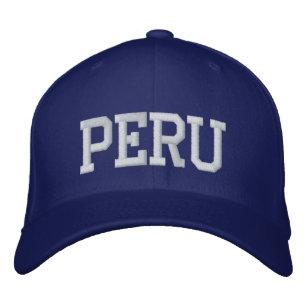 Gorra de béisbol de Perú 0cf7a6b13d0