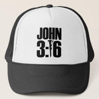Gorra de béisbol del 3:16 de Juan