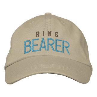 Gorra de béisbol del azul del soltero del boda del