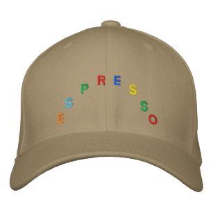 Gorra de béisbol del café express 7c334ed10b0
