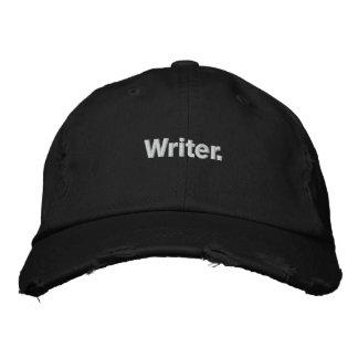 """Gorra de béisbol del """"escritor"""""""