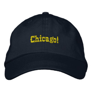 Gorra de béisbol del personalizado de Chicago