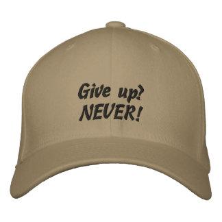 Gorra de béisbol del personalizado de la cita de