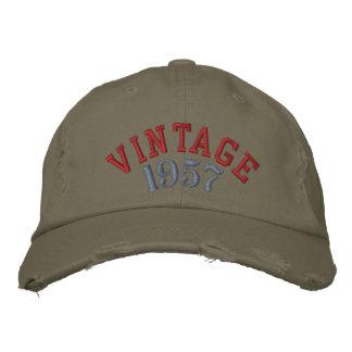 Gorra de béisbol del personalizado del año del