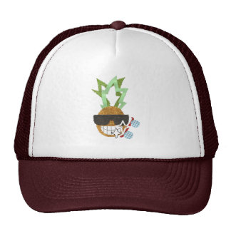 Gorra de béisbol fresca de la piña