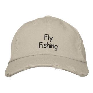 Gorra de béisbol/gorra bordados pesca con mosca gorra de beisbol