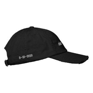 gorra de béisbol política para las mujeres