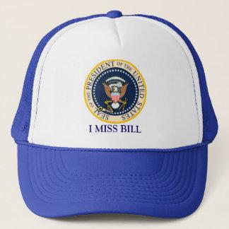 Gorra de Bill Clinton: I Srta. Bill: Sello