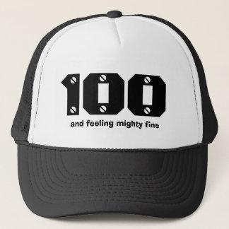 Gorra De Camionero 100o Cumpleaños o CUALQUIER año que siente fino