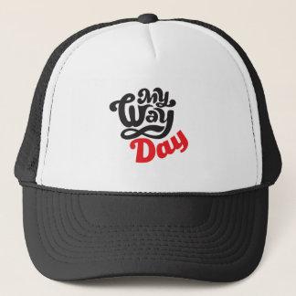 Gorra De Camionero 17 de febrero - mi día de la manera - día del