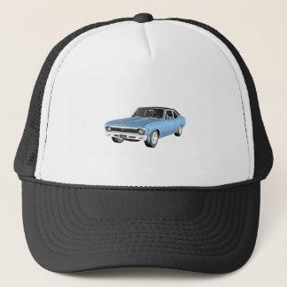 Gorra De Camionero 1968 coches azules claros del músculo
