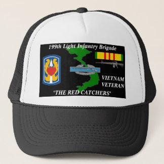 """Gorra De Camionero 199o Infantería ligera casquillos de la bola """"de"""
