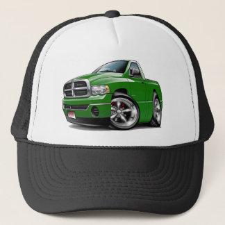 Gorra De Camionero 2003-08 camión del verde del espolón de Dodge