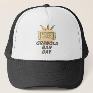 Gorra De Camionero 21 de enero - día de la barra de Granola
