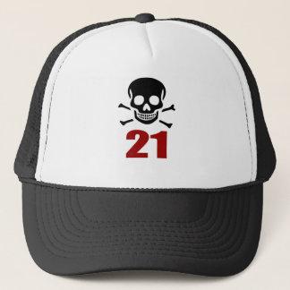 Gorra De Camionero 21 diseños del cumpleaños