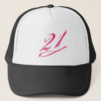 Gorra De Camionero 21ro cumpleaños femenino