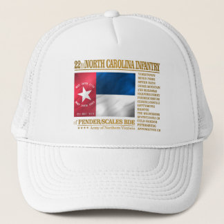 Gorra De Camionero 22do Infantería de Carolina del Norte (BA2)