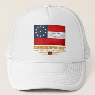 Gorra De Camionero 22do Infantería de Mississippi