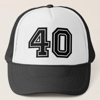 Gorra De Camionero 40.o Cumpleaños