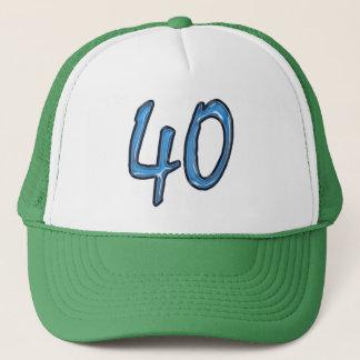 Gorra De Camionero 40.o Fiesta de cumpleaños