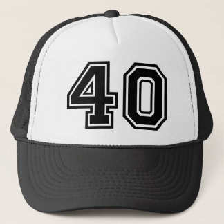Gorra De Camionero 40.o Obra clásica del cumpleaños
