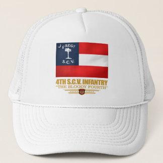 Gorra De Camionero 4to Infantería de Carolina del Sur