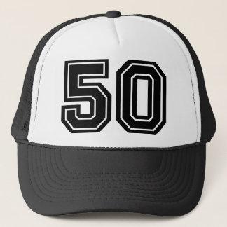 Gorra De Camionero 50.o Obra clásica del cumpleaños